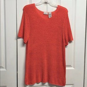 White Stag Tunic Sweater Size 18W / 20w Pink